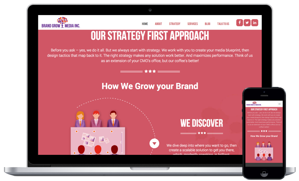 Brand Grow Media Portfolio